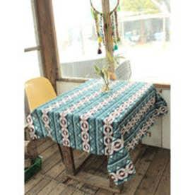 【チャイハネ】チマヨ柄テーブルクロス Lサイズ ネイビー