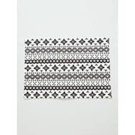 【欧州航路】ポーリッシュモノクロームプレイスマット ホワイト×ブラック