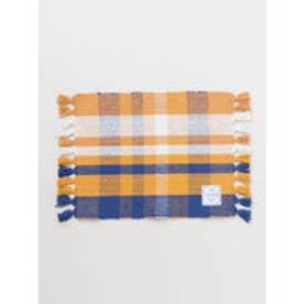 【欧州航路】チェック織りプレイスマット ブルー