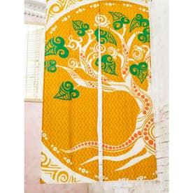 【チャイハネ】生命の樹 のれん オレンジ