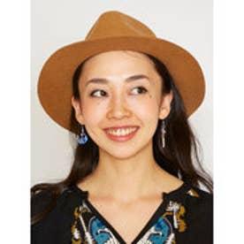 【チャイハネ】クレセントムーン&スター★チェーンピアス ネイビー
