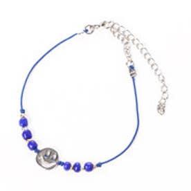 【チャイハネ】ニッコリビーズブレス&アンクレット 2WAY ブルー