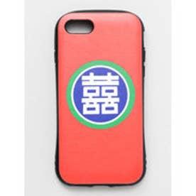 【チャイハネ】iPhone8/7兼用タフケース 縁起文字 Hybrid Tough Case レッド