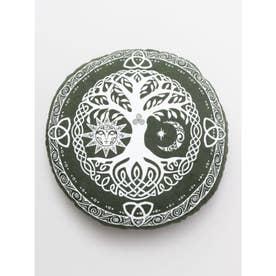 【チャイハネ】生命の樹 パワー座禅クッション カーキ