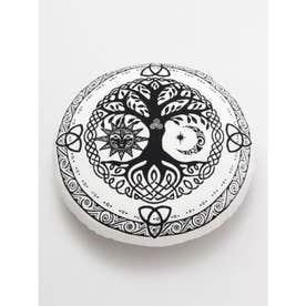 【チャイハネ】生命の樹 パワー座禅クッション ホワイト