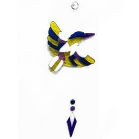 【チャイハネ】レジンBIRDオーナメント ブルー