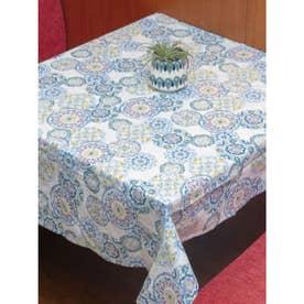 【欧州航路】ポルトガルタイル柄テーブルクロス ブルー