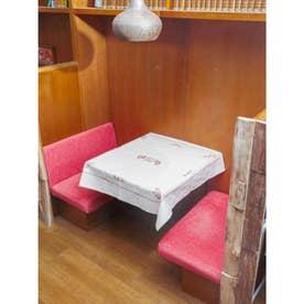 【欧州航路】ハンガリー刺繍風テーブルクロス ベージュ