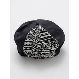 【チャイハネ】トゥアレグベレー帽 ブラック