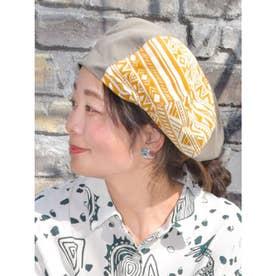 【チャイハネ】トゥアレグベレー帽 カーキ