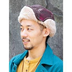【チャイハネ】ボアエスキモーキャップ ブラウン