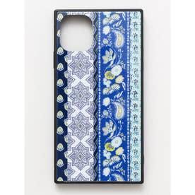 【欧州航路】iPhone11 スクエア型ガラス製スマホケース ブルー系その他