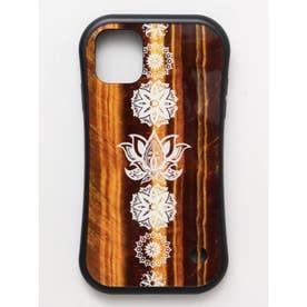 【チャイハネ】iPhone11 チャクラタフケース ブラウン