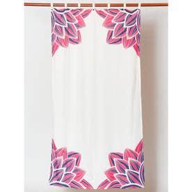 【チャイハネ】ロータスカーテン ホワイト