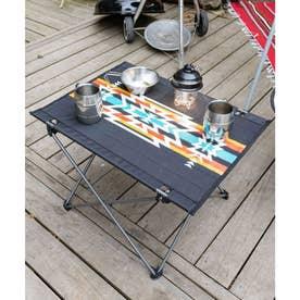 【チャイハネ】グラウンドテーブル 折りたたみ可能 ケース付き ブラック