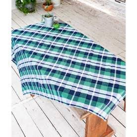 【チャイハネ】イタワ織りチェック柄マルチクロス Mサイズ グリーン