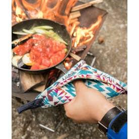 【チャイハネ】グラウンドキッチンミトン 鍋つかみ ブルー