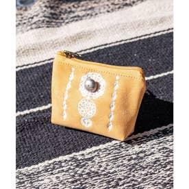 【チャイハネ】セレーネ刺繍ミニポーチ オレンジ