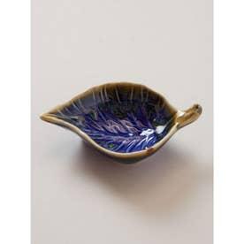 【チャイハネ】リーフ豆皿 ブルー