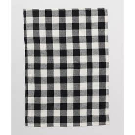 【チャイハネ】イタワ織りチェック柄マルチクロス Sサイズ ブラック