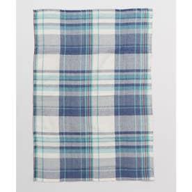 【チャイハネ】イタワ織りチェック柄マルチクロス Sサイズ ブルー