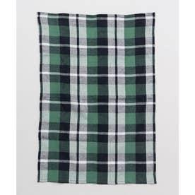 【チャイハネ】イタワ織りチェック柄マルチクロス Sサイズ グリーン