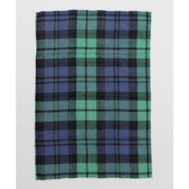 【チャイハネ】イタワ織りチェック柄マルチクロス Sサイズ ネイビー