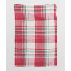 【チャイハネ】イタワ織りチェック柄マルチクロス Sサイズ ピンク