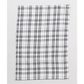 【チャイハネ】イタワ織りチェック柄マルチクロス Sサイズ ホワイト