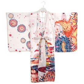 【チャイハネ】ユートピアキッズ浴衣110cm ホワイト