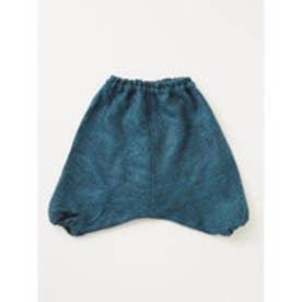 【チャイハネ】起毛素材フワサルエルKID'Sパンツ110cm ブルー