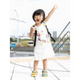 【チャイハネ】yul メキシカン刺繍KIDSタンクトップ110cm ホワイト