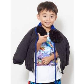 【チャイハネ】マラケシュボアKIDSジャケット110cm リバーシブル ホワイト