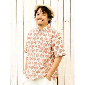 【チャイハネ】ブロックプリントMEN'Sシャツ その他2