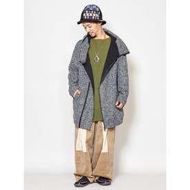 【チャイハネ】yul 変形フードMEN'Sジャケット ブラック