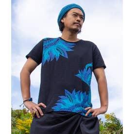 【チャイハネ】リゾートトライバルメンズTシャツ ブラック