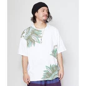 【チャイハネ】リゾートトライバルメンズTシャツ ホワイト