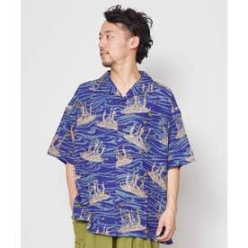 【チャイハネ】ホクレアMEN'Sシャツ ブルー