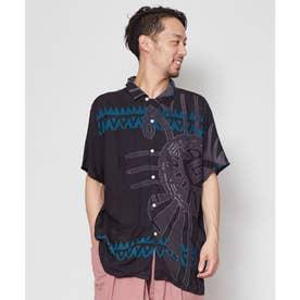 【チャイハネ】プエブロMEN'Sシャツ ブラック