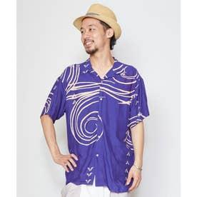 【チャイハネ】プエブロMEN'Sシャツ ブルー