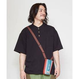 【チャイハネ】grn×Amina ペダーメンズTシャツ ブラック