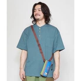 【チャイハネ】grn×Amina ペダーメンズTシャツ グリーン