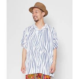 【チャイハネ】ジャングルMEN'Sシャツ ホワイト