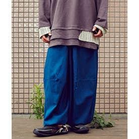 【チャイハネ】メデューサ変形MEN'Sワイドパンツ ブルー