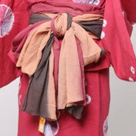 【チャイハネ】インド綿グラデーション浴衣帯 パープル