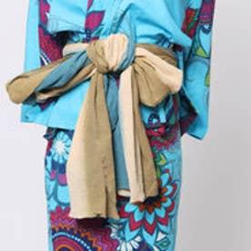 ◆【チャイハネ】グラデーション浴衣帯(BEIGE) ベージュ