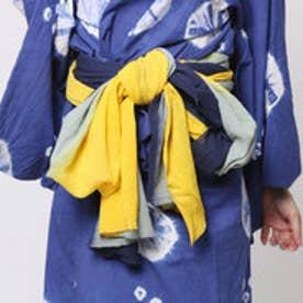 ◆【チャイハネ】グラデーション浴衣帯(NAVY) ネイビー