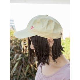 欧州航路×Newhattan イニシャル刺繍キャップ ライトイエロー