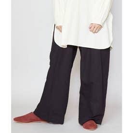 【チャイハネ】カラビナチャーム付き変形パンツ ブラック