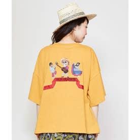 【チャイハネ】grn×Amina ベンナTシャツ イエロー